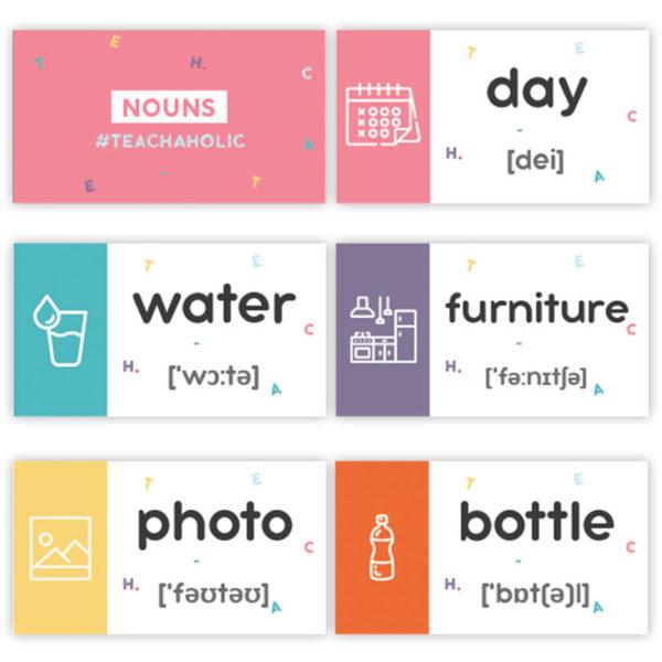 карточки с английскими словами