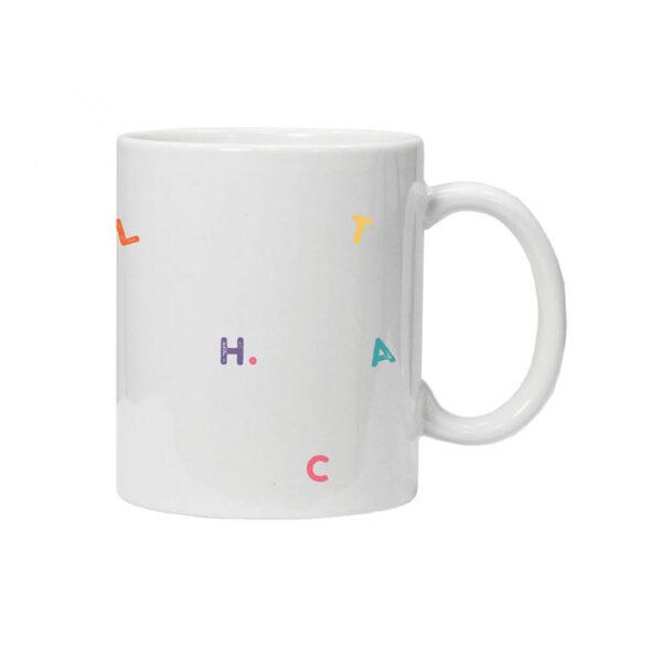 чашка для учителя teachaholic